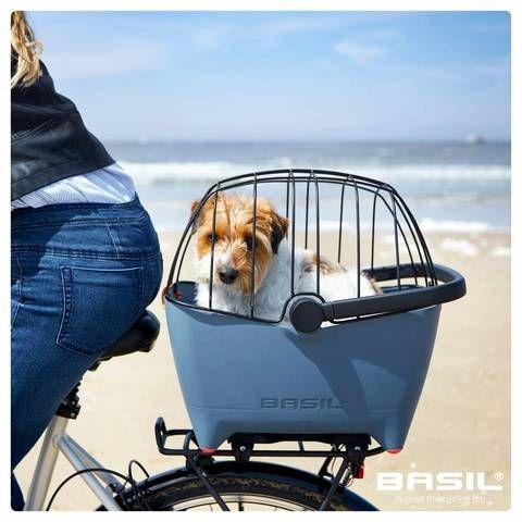 Basil Buddy Pet Bicycle Basket Top Cage Accessory Dog Bike