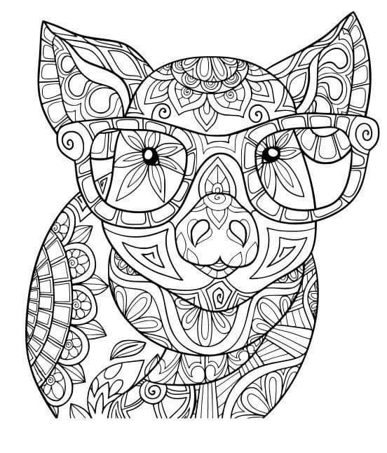 Pin By Susan Anderson On Cricut Animal Coloring Pages Mandala Coloring Pages Animal Coloring Books