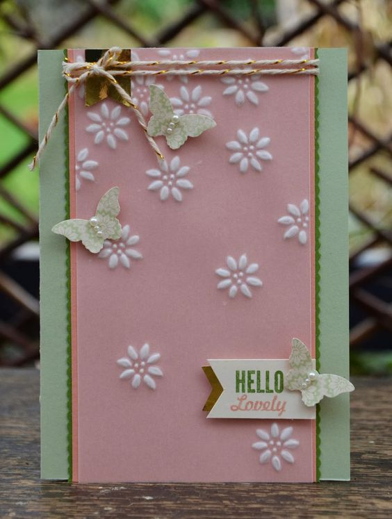 Frosted Scattered Embossing Technique & Video!