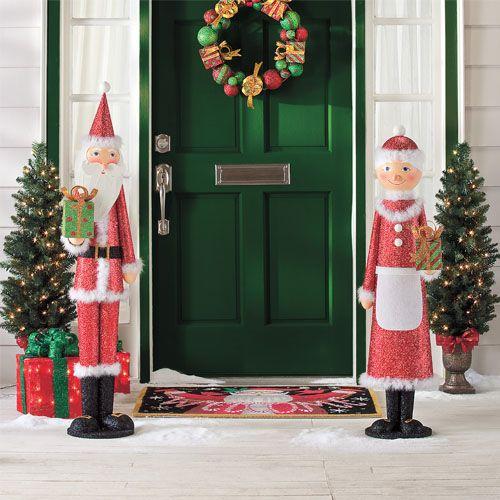 - Santa & Mrs. Claus