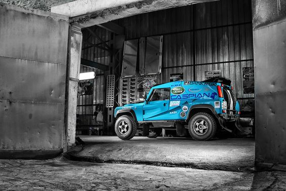 Bowler is a UK company making rally raid vehicles based on Land Rover and Range Rover cars.