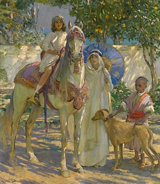 Sir John Lavery (in Morocco):