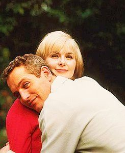 Paul Newman and Joanne Woodward.  Joanne, lucky for you he didn't meet me first!: