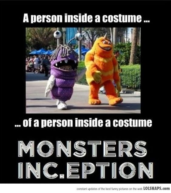 Monsters Inc. and Inception
