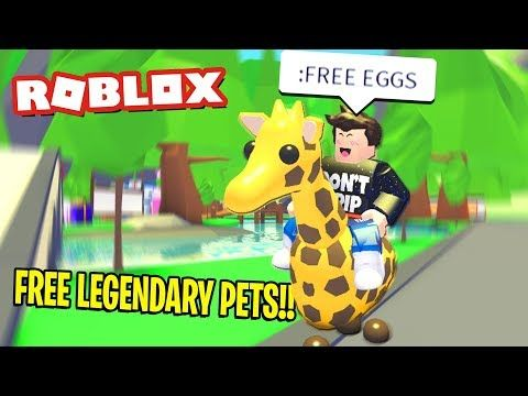 Free Legendary Pets In Roblox Adopt Me Pets Adoption Roblox