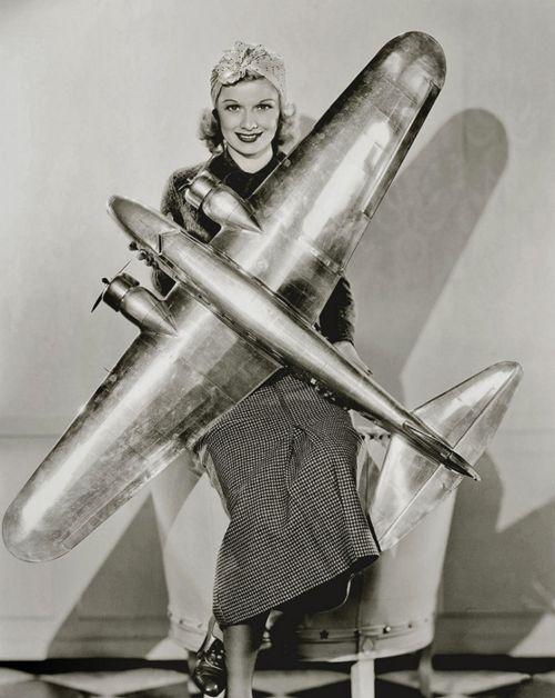 Lucille Ball doing her bit for the war effort, 1940s