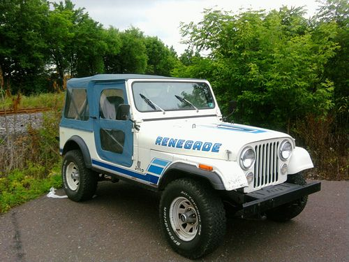 Jeep Cj 7 Renegade Like The Paint Job But Different Colors