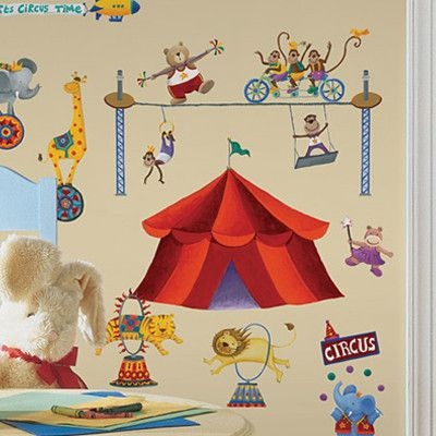 ...circus wall decals