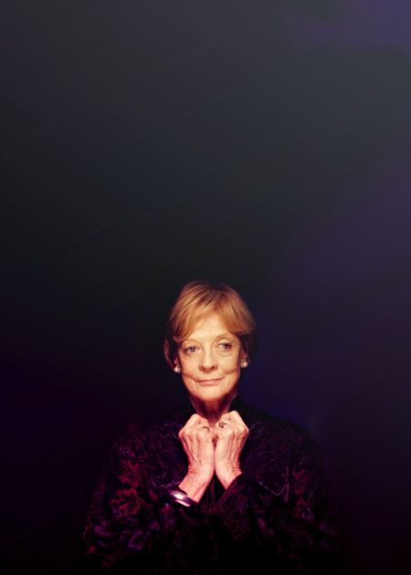"Dame Maggie Smith. When diagnosed with breast cancer, is was questioned whether she would return to film or the stage. She simply said ""The show must go on."""