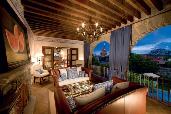 Colonial mansions & haciendas  in south America