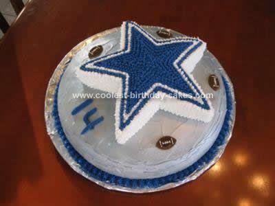 Dallas Cowboys Cake Cake Ideas Pinterest Football