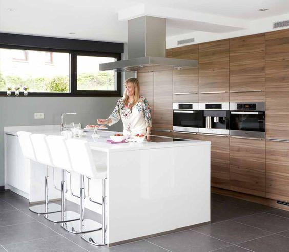 Ergonomie Keuken Driehoek : keuken realisatie 6 – Varia – Krefel Keukens