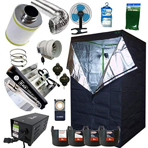 grow tent setup weed filter fan