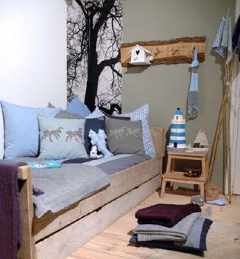 Stoere kamer voor jongens door esthervisser deco ideas - Deco voor volwassen kamer ...