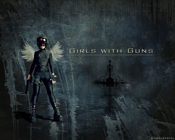 Girls with guns!