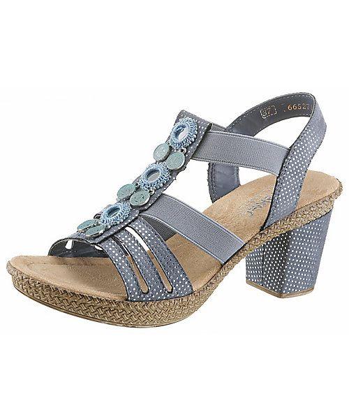 Rieker Sandalette online bestellen | Sandaletten damen, Blau