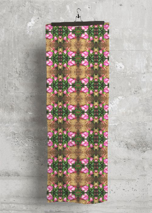 Silk Square Scarf - Palisades Pink by VIDA VIDA TwXAZGej7N
