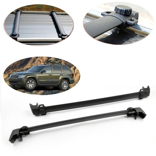 4 Door Roof Rack Cross Bars Rail Luggage Carrier For Compass 2011