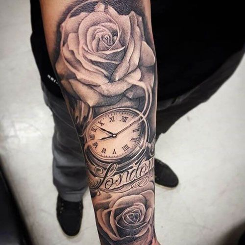 101 Best Rose Tattoos For Men Cool Designs Ideas 2020 Guide Cool Arm Tattoos Rose Tattoos For Men Arm Tattoos For Guys