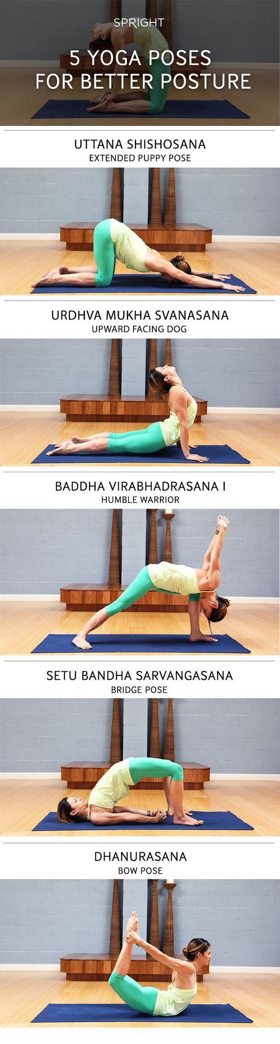 These yoga poses will help improve your posture!