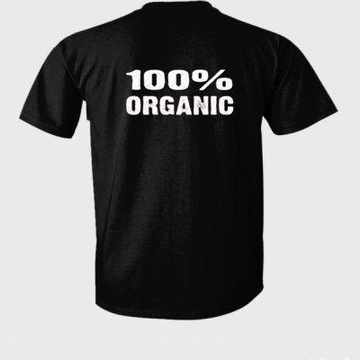 100% Organic tshirt - Ultra-Cotton T-Shirt Back Print Only