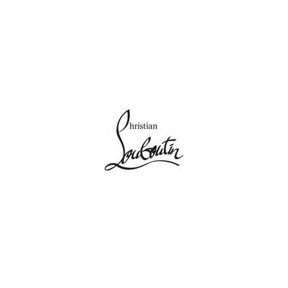 Christian louboutin ❤ liked on Polyvore featuring christian louboutin, text, words, logos y louboutin