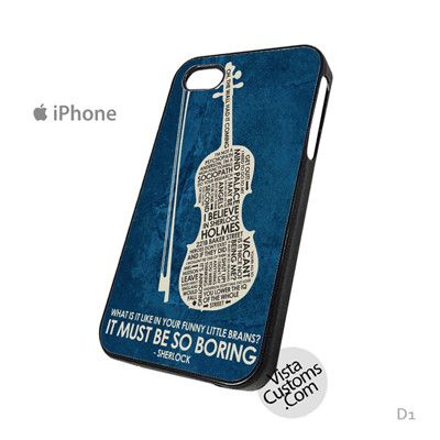 BBC Sherlock Inspired Quote Poster Phone Case For Apple, iphone 4, 4S, 5, 5S, 5C, 6, 6 +, iPod, 4 / 5, iPad 3 / 4 / 5, Samsung, Galaxy, S3, S4, S5, S6, Note, HTC, HTC One, HTC One X, BlackBerry, Z10