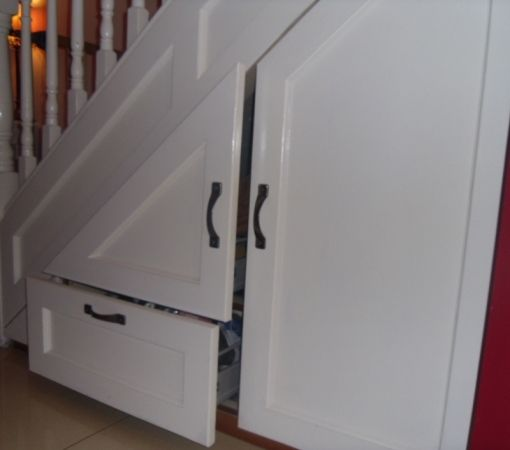 Under stairs storage for the home pinterest storage for Under stairs drawers