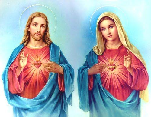 Sagrados Corazones de Jesús y María, la Unión del Amor (junio | Sagrado corazon, Sagrado corazon de jesus, Corazon de jesus