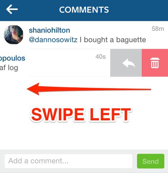 how to undo delete comment on instagram