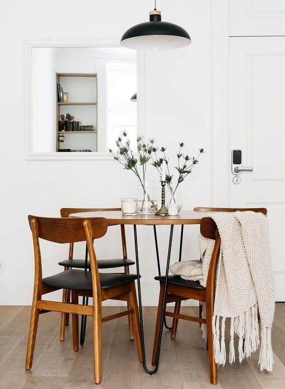 20 Modern Eclectic Dining Room Design Ideas Minimalist Dining Room Dining Room Small Modern Farmhouse Dining Room