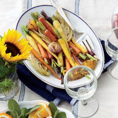 Roasted Carrots and Fennel | Coastalliving.com