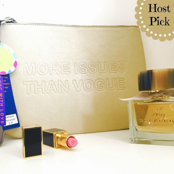 "Spotted while shopping on Poshmark: ""SOLDMore Issue than Vogue Clutch""! #poshmark #fashion #shopping #style #Boutique #Handbags"