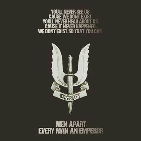 Indian Army Para Special Forces Balidan Badge Motto Men Apart Every Man An Emperor Checkout Our Youtube Chan Indian Army Quotes Indian Army Army Quotes