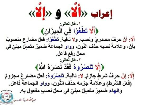 Pin By سنا الحمداني On علم النحو Arabic Language Arabic Quotes Language
