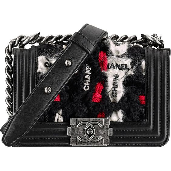 Chanel Fall Winter 2016 Classic And Boy Bag Collection Act 2 ❤ liked on Polyvore featuring bags and chanel