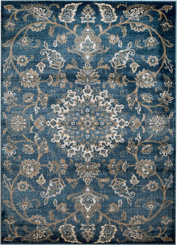 Chartridge Oriental Blue Area Rug