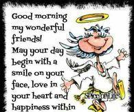 Good Morning My Wonderful Friends