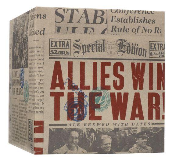 Allies Win The War Beer Case