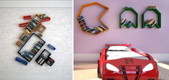 Creatief met boekenplanken