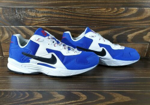 Vintage Nike Proton 1996 Size Us 8 Made In Thailand Very Rare Blue White Retro In 2020 Nike Vintage Nike Vintage Sneakers