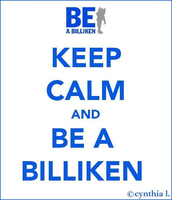 keep calm and be a billiken #SLU #Saintlouisuniversity