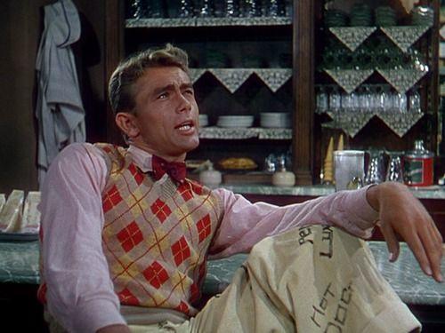 James Dean in Has Anybody Seen My Gal (1952).