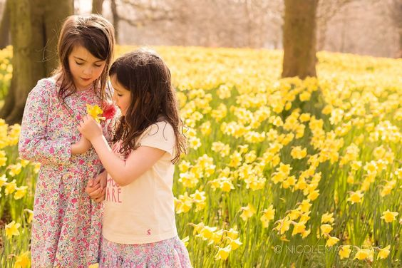 Spring family photoshoot in daffodil fields | Liverpool | Cheshire | widnes family, children's photography