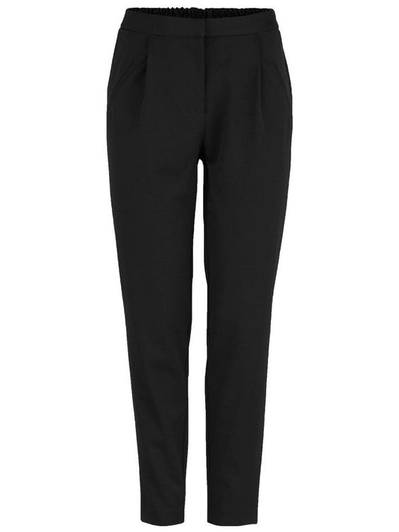 LOOSE FITTED WORKWEAR TROUSERS, Black, large