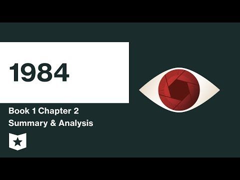 1984 Book 1 Chapter 2 Summary Course Hero 1984 Book Literature Study Guides Study Guide