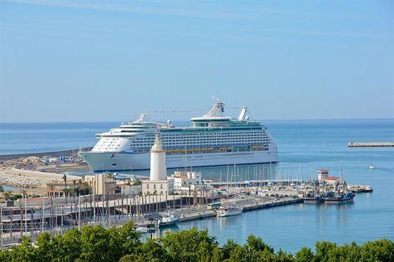 Port de Malaga, Andalousie - Costa del Sol (Espagne)