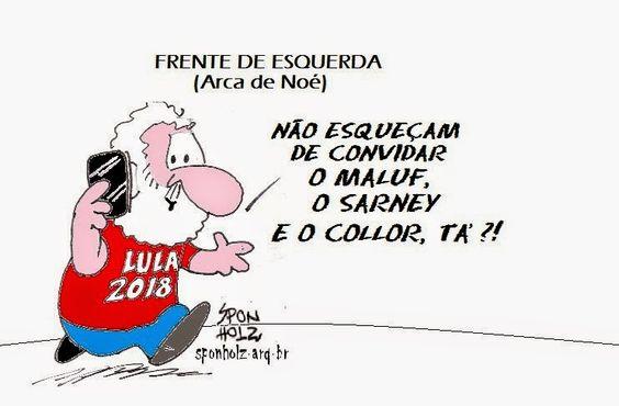 BLOG DO ORLANDO TAMBOSI: A Frente de Esquerda do Lula: Maluf, Collor, Sarney et caterva.