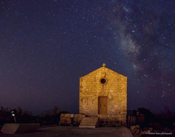 Dingli Chapel in Malta by Christian Spiteri