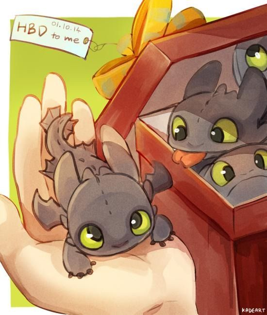 Because I want box of Night Furies for my birthday and since my birthday is this weekend